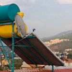 Солнечная батарея на крыше